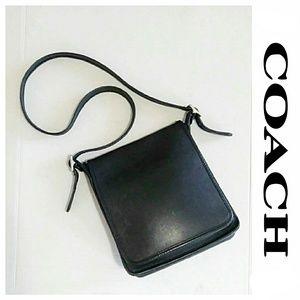 Vintage Coach Crossbody Saddle Bag